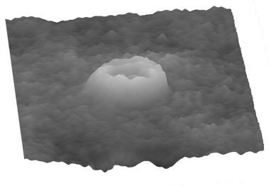 Изображение эритроцита, полученное методом количественной фазовой микроскопии в НТЦ УП РАН