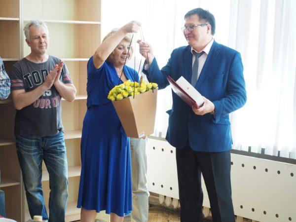 Юбилей отмечает директор НТЦ УП РАН М.Ф.БулатовЮбилей отмечает директор НТЦ УП РАН М.Ф.Булатов