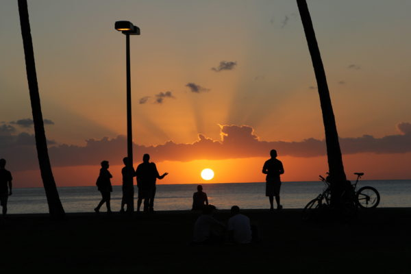 Зинин П.В. «Гавайский закат»