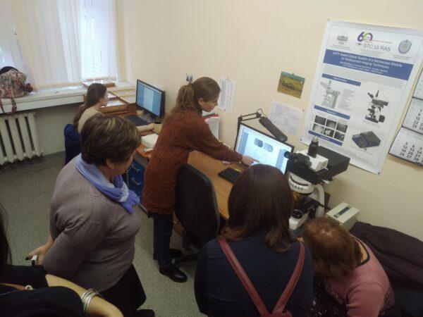 31 октября 2018 года для учителей московских школ состоялась ознакомительная экскурсия в НТЦ УП РАН