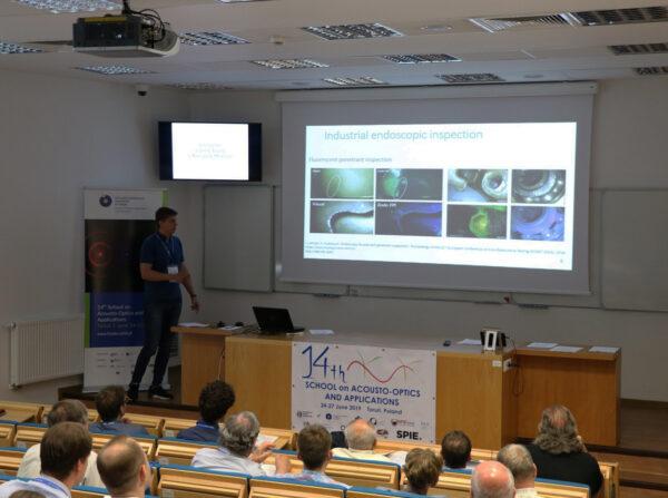 14-я Международная школа-конференция по акустооптике и её применениям