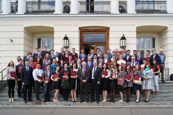30.05.2017 в Президиуме РАН состоялось вручение лучшим молодым ученым медалей РАН с премией
