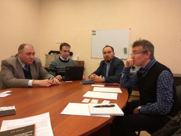 НТЦ УП РАН посетила делегация Исследовательского центра Самсунг во главе с директором лаборатории перспективных исследований