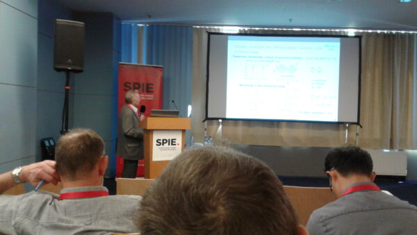 Сотрудники НТЦ УП на симпозиуме SPIE Optics + Optoelectronics: Петров П