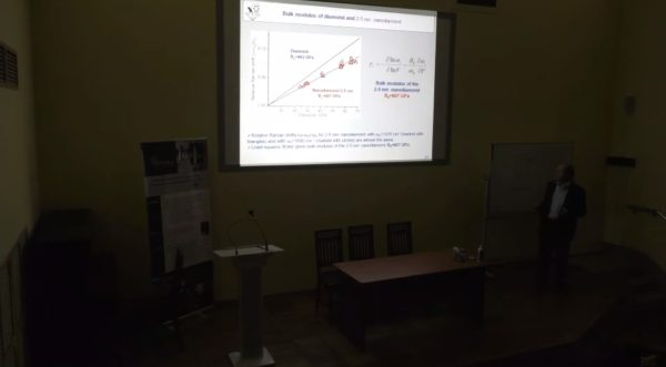 Научный семинар на тему Эффект возрастания модуля объемного сжатия до 600 ГПа при уменьшении размера наноалмаза до 2-5 нм